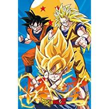 Gb Eye Dragon Ball Z 3 Globus Poster Pos Tower Records